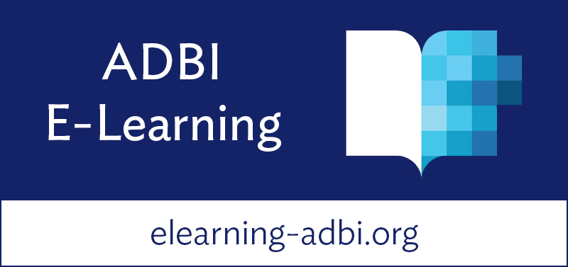 ADBI E-Learning - Your virtual Asia Pacific development classroom