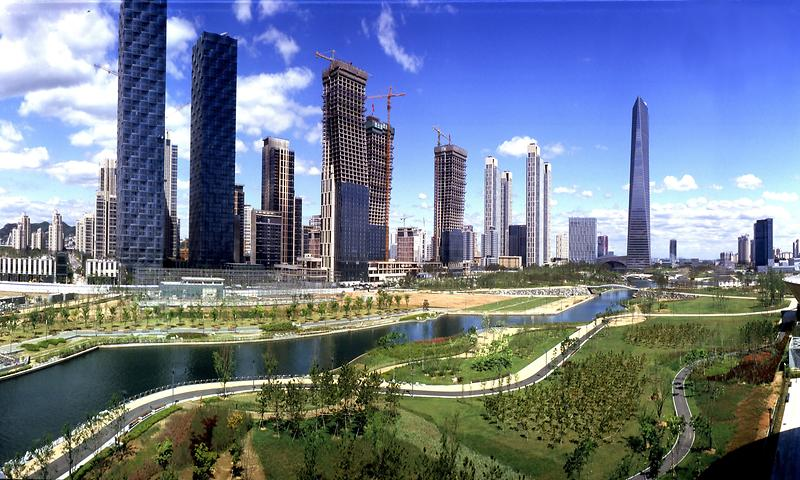 Songdo, the City of the Future. Courtesy of the Incheon Tourism Organization.
