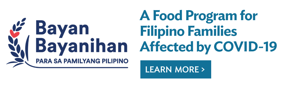 A food program for Filipino families