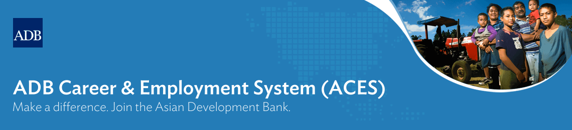 ADB Career and Employment System
