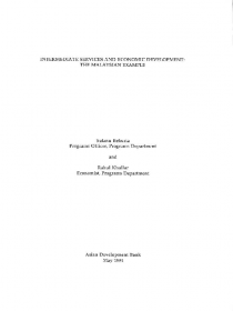 Intermediate Services and Economic Development: The Malaysian Example
