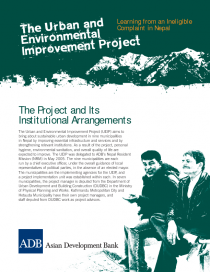 The Urban and Environmental Improvement Project: Learning from an Ineligible Complaint from Nepal