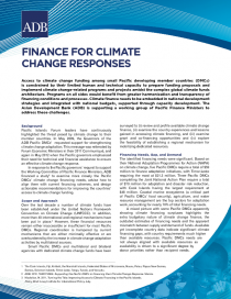 Finance For Climate Change Responses