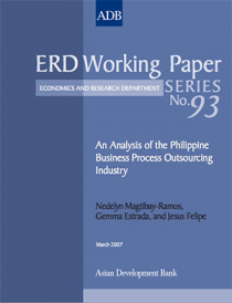 An Analysis of the Philippine Business Process Outsourcing Industry