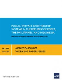Public–Private Partnership Systems in the Republic of Korea, the Philippines, and Indonesia