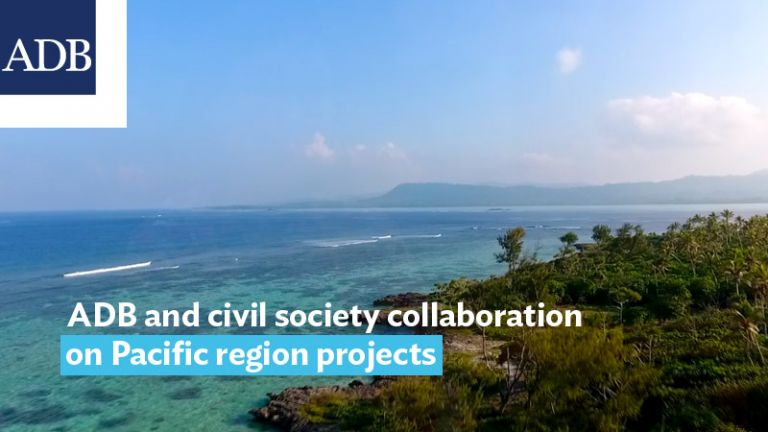 ADB and civil society strengthen collaboration on Pacific region projects