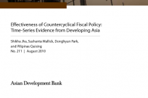 Effectiveness of Countercyclical Fiscal Policy: Time-Series Evidence from Developing Asia