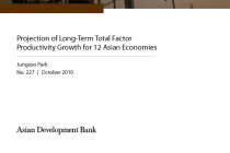 Projection of Long-Term Total Factor Productivity Growth for 12 Asian Economies