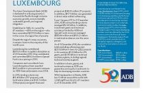 Asian Development Bank and Luxembourg: Fact Sheet