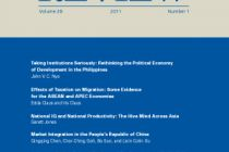 Asian Development Review - Volume 28, Number 1