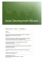 Asian Development Review: Volume 30, Number 1