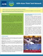 ADB-Asian Think Tank Network eNewsletter Issue 1