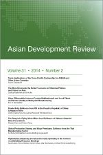 Asian Development Review: Volume 31, Number 2