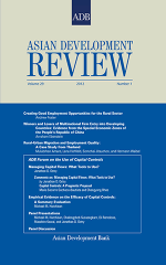 Asian Development Review - Volume 29, Number 1
