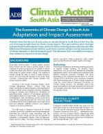 Climate Action South Asia: Information Update No. 3 (The Economics of Climate Change in South Asia)