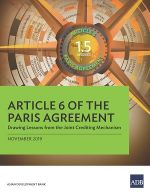 Article 6 of the Paris Agreement: Drawing Lessons from the Joint Crediting Mechanism