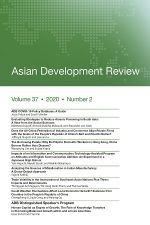 Asian Development Review: Volume 37, Number 2